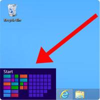 FULL Windows 8 Start Button
